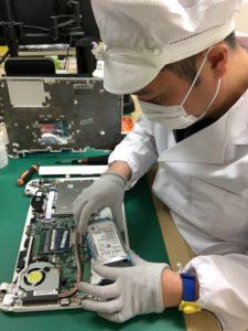 札幌パソコンかけこみ寺の高度データ復旧