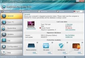 Antivirus Security Proというウイルス対策ソフトは詐欺ソフトです。対処と削除が必要です