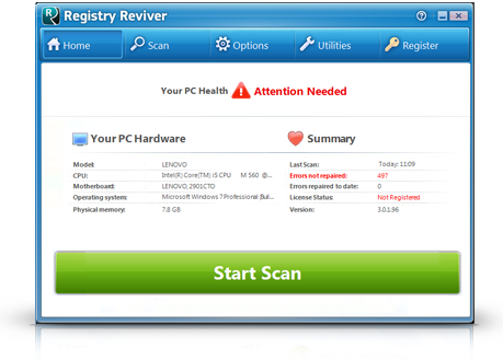 Registry Reviverという詐欺ソフトが表示された場合の対処方法と削除について札幌パソコンかけこみ寺