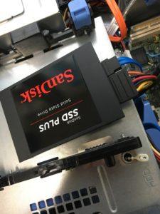 新品PCへのSSD交換の注意点