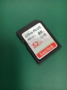 フォーマットしますか?と表示されフォーマットしたSDカードデータ復元