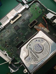 ブラウン管モニター一体型eMacハードディスクデータ復旧