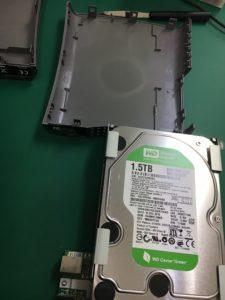 パラメーターが間違っていますと表示されるHDDのデータ復旧
