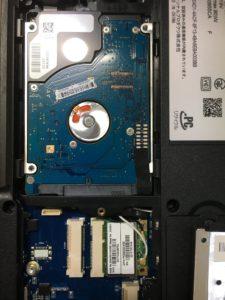 NECノートPC LL750スタートアップ修復画面から起動しない場合の修理