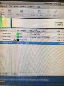 スタートアップ修復をするとCドライブの容量が0と認識されるPCの修理