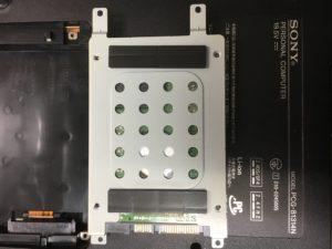 PCを診断中で止まるSONYノートPC PCG-81314Nからのデータ復旧