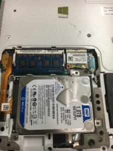 ノートPCを起動してもBIOSで認識されないハードディスクのデータ復旧