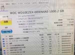 PCはメーカー修理に出すと中古のハードディスクと交換されることがあります