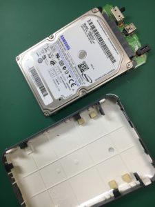 2台同時に壊れた外付けハードディスクのデータ復旧