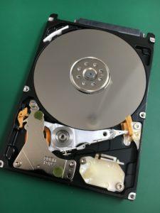 水没したMacBookProのハードディスクデータ復旧