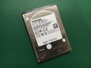 ユーザーフォルダが消えたノートPCのデータ復旧