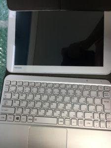 フォルダやファイルが開けなくなった東芝Windowsタブレット型2in1ノートPCの修理